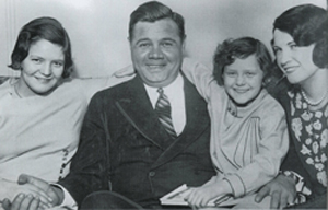BabeAndFamilyO Babe Ruth, The Family Man